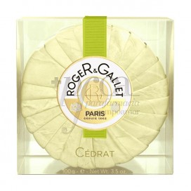 ROGER GALLET CEDRAT SCENTED SOAP TRAVEL CASE 100G