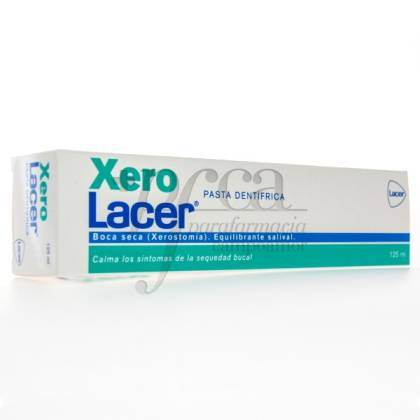 XEROLACER PASTA DENTIFRICA XEROSTOMIA 125ML