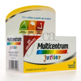MULTICENTRUM JUNIOR 30 TABLETTEN