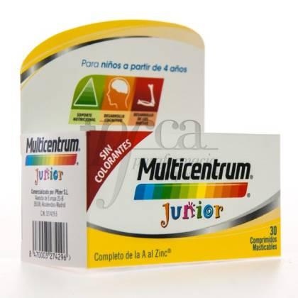 MULTICENTRUM JUNIOR 30 COMPS MASTICABLES