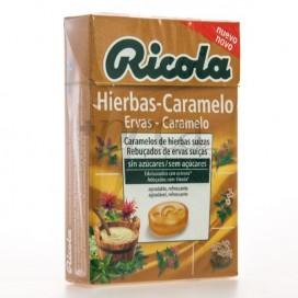 RICOLA HIERBAS-CARAMELO 50G