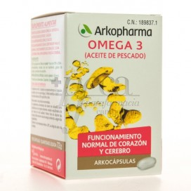 ARKOCAPS OMEGA 3 FISH OIL 100 CAPSULES