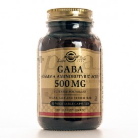 GABA 500MG 50 CAPS SOLGAR