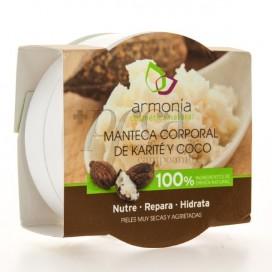 MANTECA CORPORAL DE KARITE E COCO 100G