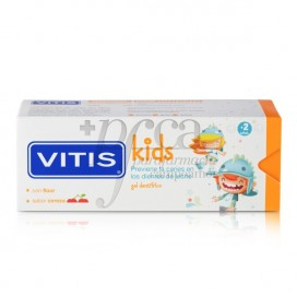 VITIS KIDS GEL DENTÍFRICO SABOR CEREJA 50ML