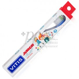 VITIS JUNIOR KIDS TOOTHBRUSH 6Y+ 1 UNIT