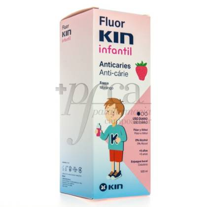 FLUOR KIN COLUTORIO INFANTIL S/ FRESA 5A+ 500ML