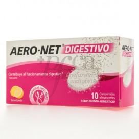 AERO NET DIGESTIVO 10 COMPRIMIDOS EFERV SABOR LIMÃO