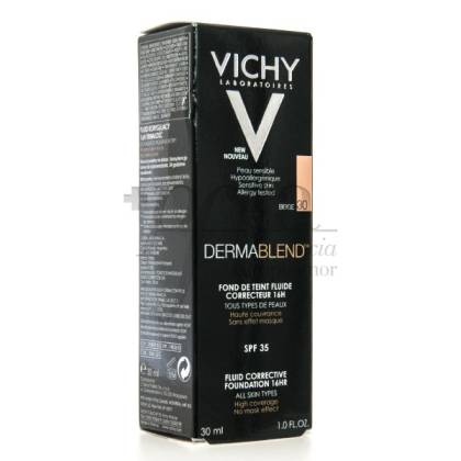 VICHY DERMABLEND FLUIDO CORRECTOR 30ML TONO 30