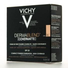 VICHY DERMABLEND COVERMATTE PULVER 9,5G N15