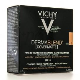 VICHY DERMABLEND COVERMATTE PULVER 9,5G N45