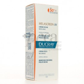 DUCRAY MELASCREEN UV RICH CREAM SPF50 FOR DRY SKIN 40 ML