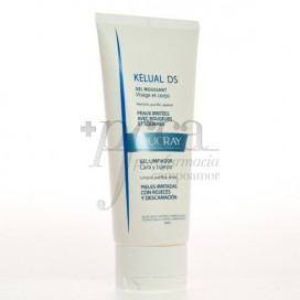 DUCRAY KELUAL DS CLEANSING GEL FACE AND BODY 200 ML