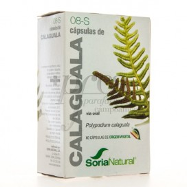 SORIA NATURAL 8-S CALAGUALA 60 CAPS
