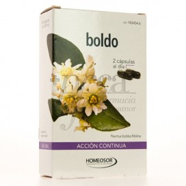 BOLDO ACCION CONTINUA SORIA NATURAL 30 CAPS