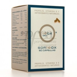 SORIOOX PROPOLIS VIT D UND ANTIOXIDANT 60 KAPSELN