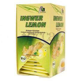 GINGER LEMON WITH GREEN TEA AVITAE 20 SACHETS