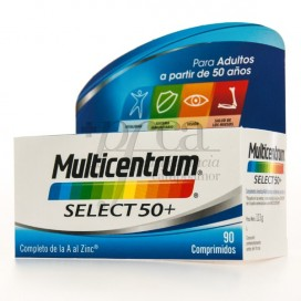 MULTICENTRUM SELECT 50+ 90 TABLETTEN
