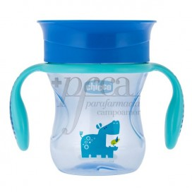 CHICCO PERFECT CUP 360° +12M BOY 200ML