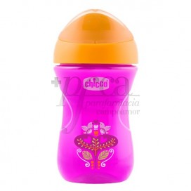 CHICCO VASO EASY BOQUILLA RIGIDA +12M NIÑA 266ML