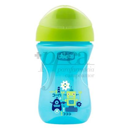 CHICCO VASO EASY BOQUILLA RIGIDA +12M NIÑO 266ML