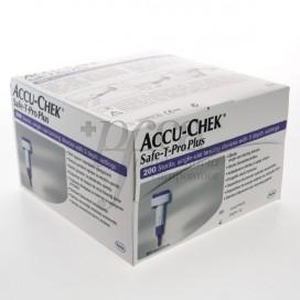 ACCU-CHEK SAFE T-PRO PLUS 200 LANCETAS