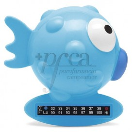 CHICCO BATH THERMOMETER +0M BLUE