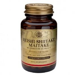 REISHI SHIITAKE MAITAKE 50 KAPSELN SOLGAR