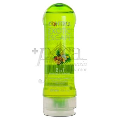 CONTROL EXOTIC ESCAPE GEL MASAJE 200ML