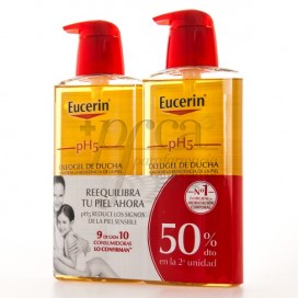 EUCERIN SHOWER OIL GEL 2X 400ML PROMO