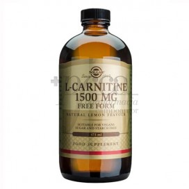 L-CARNITINA 1500MG LIQUIDA 473ML SOLGAR