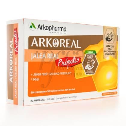 ARKOREAL JALEA REAL + PROPOLIS 20 AMPOLLAS