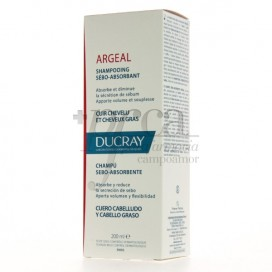 DUCRAY ARGEAL SHAMPOO FOR OILY HAIR 200 ML