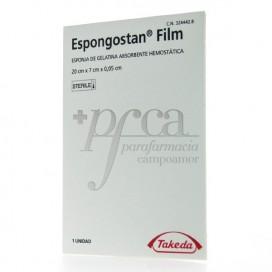 ESPONGOSTAN FILM GELATIN SCHWAMM 20X7X0,05CM 1ST