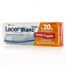 LACERBLANC PLUS D-MENTA 125+25 ML + TOOTHBRUSH PROMO