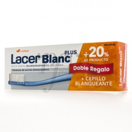 LACERBLANC PLUS D-CITRUS 125+25 ML + TOOTHBRUSH PROMO