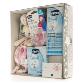 CHICCO PACK REGALO NATURAL SENSATION ROSA