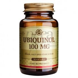 UBIQUINOL 100MG 50 SOFT CAPSULES SOLGAR