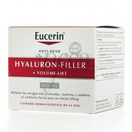 EUCERIN HYALURON-FILLER VOLUME-LIFT CREMA DE NOCHE 50 ML