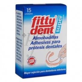 FITTYDENT DENTAL PROSTHESIS PADS 15 UNITS