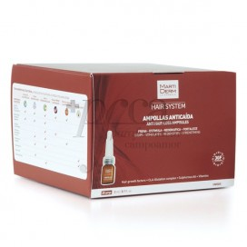 MARTIDERM HAIR SYSTEM 3GF 28 ANTI HAIR-LOSS AMPOULES