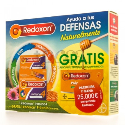 REDOXON INMUNO4 14 SOBRES + REGALO PROMO