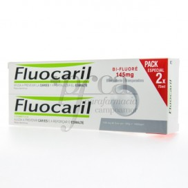 FLUOCARIL BI-FLUORE 145MG BLEICHMITTEL ZAHNPASTA 2X75 ML PROMO