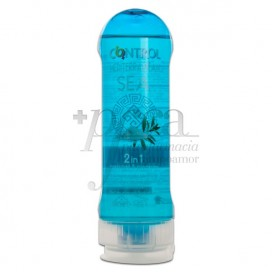 CONTROL MEDITERRANEAN SEA GEL MASAJE 2IN1 200ML