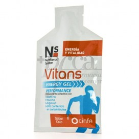 NS VITANS ENERGY GEL PERFORMANCE 40G COLA