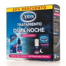 OPTREX TRATAMIENTO DIA-NOCHE 10 ML + 10 ML PROMO