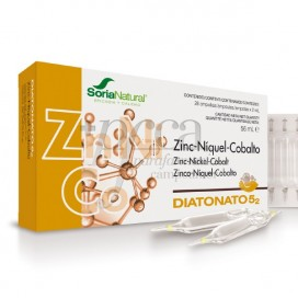 DIATONATO 5-2 ZN-NI-CO 28 AMPOULES OF 2ML R17017