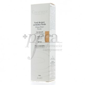 COUVRANCE MAQUILLAJE FLUIDO SPF20 30ML NATURAL 2