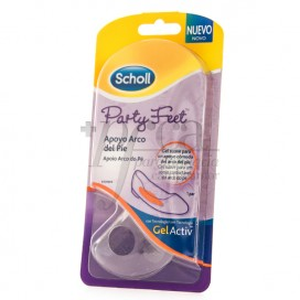 SCHOLL PARTY FEET APOYO ARCO DEL PIE 1 PAR