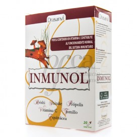 INMUNOL 20 VIALS OF 10 ML DRASANVI